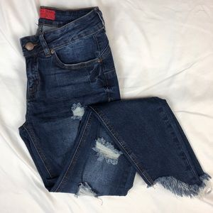 Wax Jean Push Up Butt Jeans